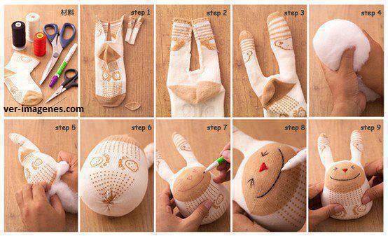 Como realizar un conejito para tu bebe