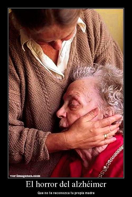 El horror del alzheimer