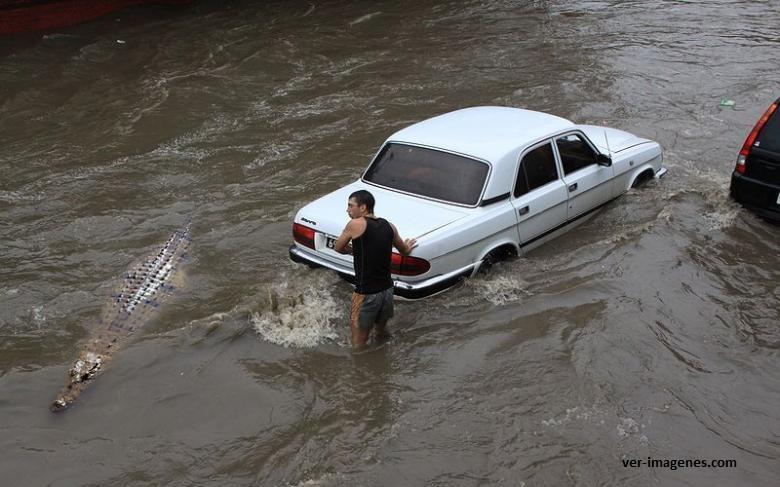 ¡¡ cuidado !!, inundación con sorpresa.