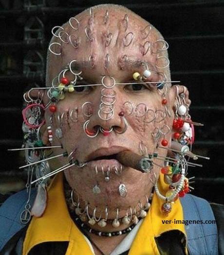 Aficionado a los piercing