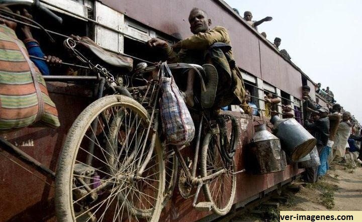 Viajar, en tren o avión?