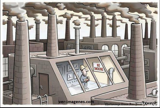 Contaminación por humos