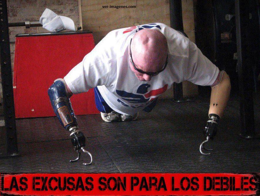 Las excusas.....