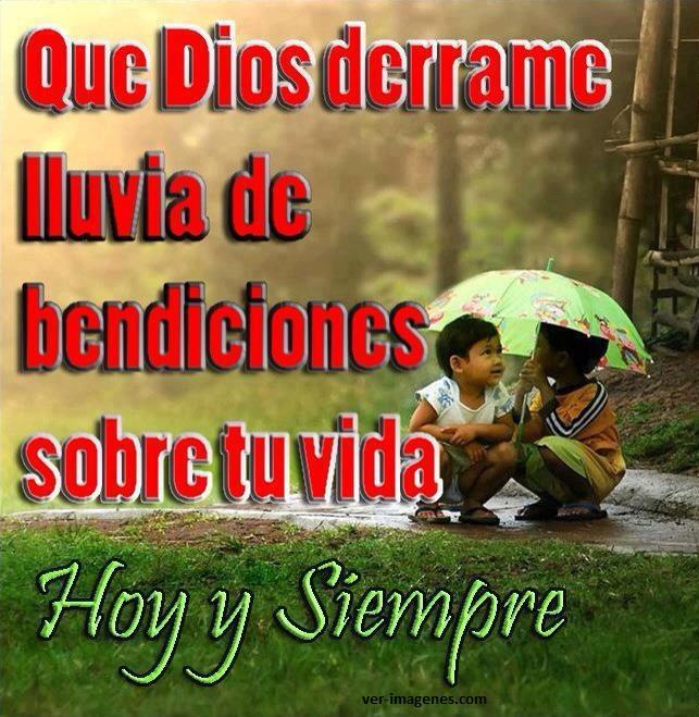 Imagen Que Dios Derrame ....
