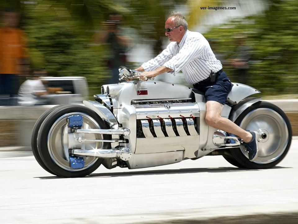 Espectacular moto