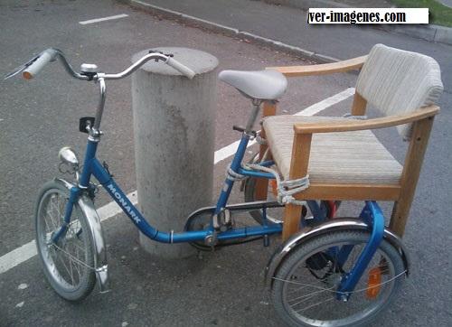 Bicicleta para pasajeros