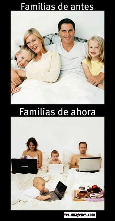 Imagen Las familias han cambiado bastante