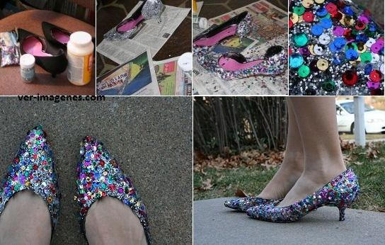 Como reciclar un zapato