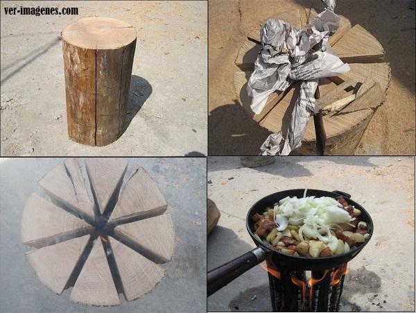 Imagen Horno de madera de un solo uso