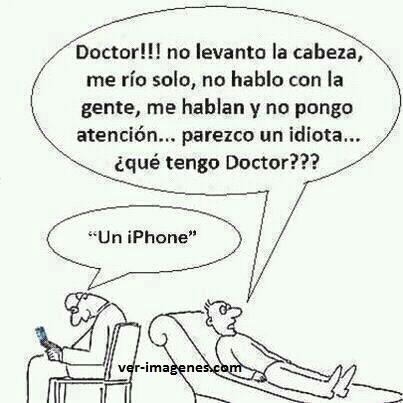 Enfermedad del Iphone