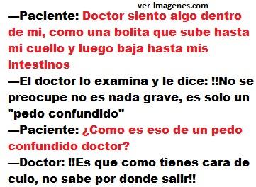 Doctor, siento algo dentro de mi