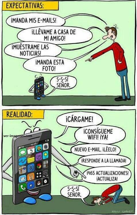 Expectativas de los iphone