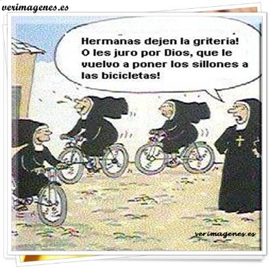 Jugar con la bicicleta