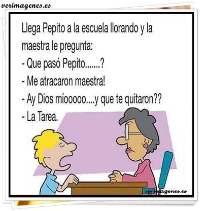 Pepito y la maestra