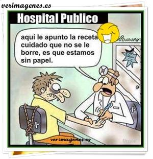 Crisis en hospitales públicos