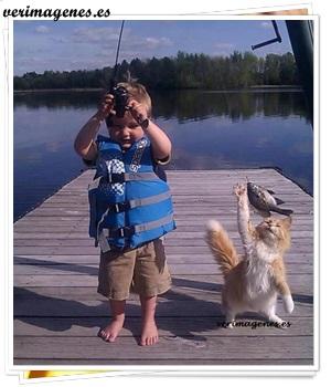 Feliz día de pesca