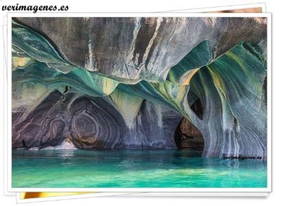 Cuevas de Mármol en la Patagonia chilena