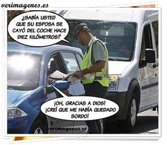 Policía de trafico, nos informa