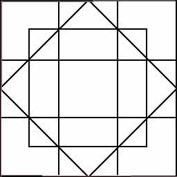 Cuantos cuadrados hay?