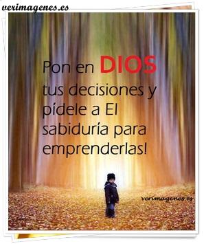 Pon en Dios