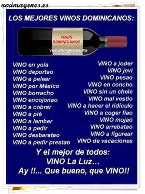 Los mejores vinos dominicanos