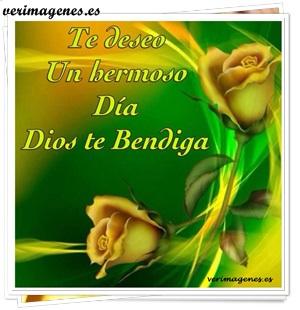 Te deseo un hermoso día