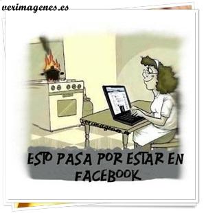 Problemas de estar en facebook