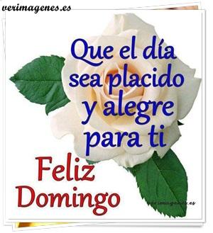 Imagen Feliz Domingo