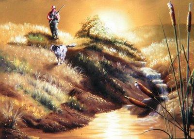 Imagen Acertijo - Que animal encontro el cazador??