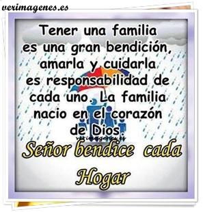 Tener una familia es una gran bendición