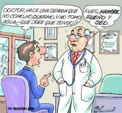 Doctor y enfermo