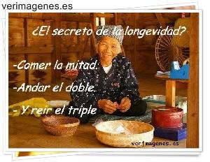 ¿ El secreto de la longevidad ?