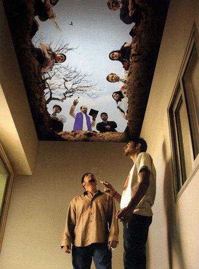 Sala de fumadores.