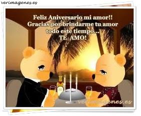 Feliz Aniversario Mi Amor !!