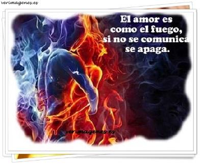 El amor es como el fuego