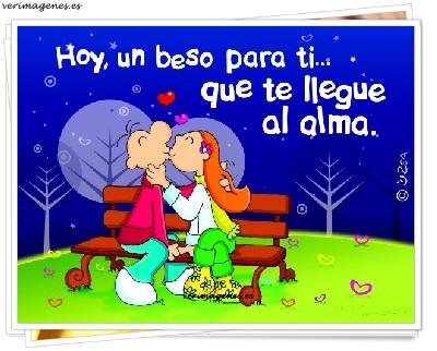 Hoy, un beso para ti