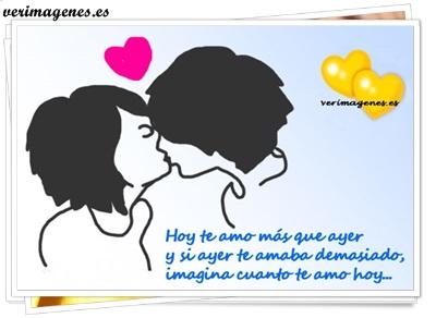 Hoy te amo mas que ayer