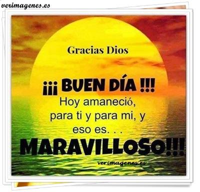 ¡¡ buen día !!