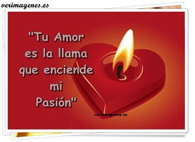 Imagen Tu amor es la llama que enciende