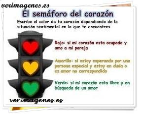 El semáforo del corazón