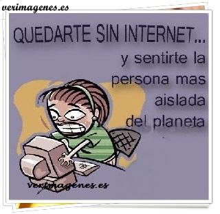 Quedarte sin internet
