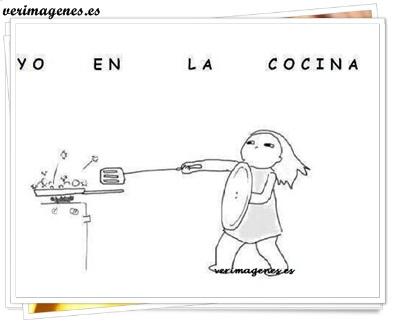 Yo en la cocina