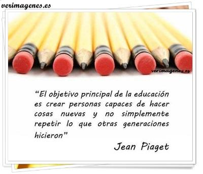 El objetivo principal de la educación