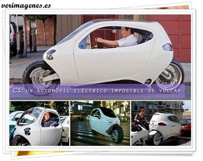 C1 un automóvil eléctrico imposible de volcar