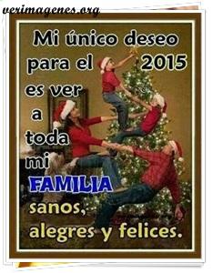 Mi único deseo para el 2015