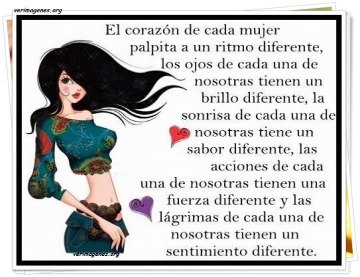 El corazón de cada mujer palpita a un ritmo diferente
