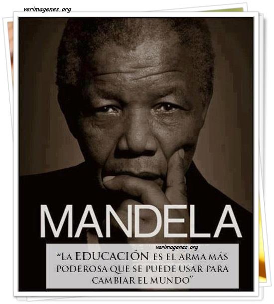 La educación es el arma más poderosa