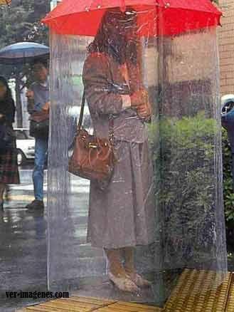 Para no mojarse