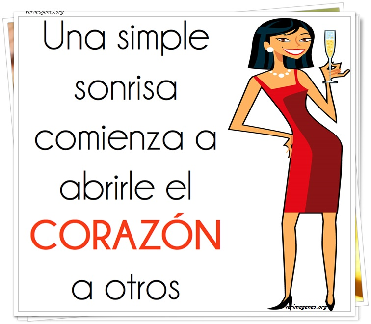 Una simple sonrisa