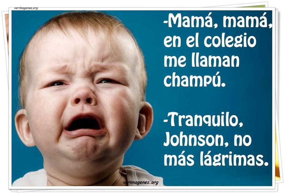 Mamá, mamá, en el colegio me llaman champú